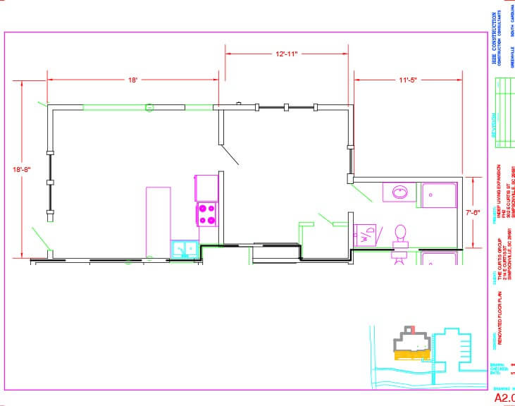 The Springs Floor Plan Unit A