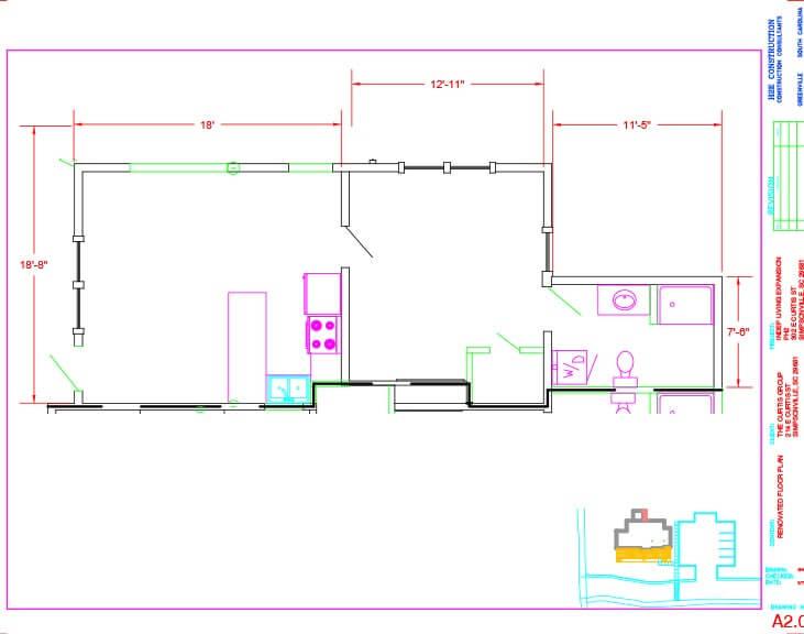 The Springs Floor Plan Unit A