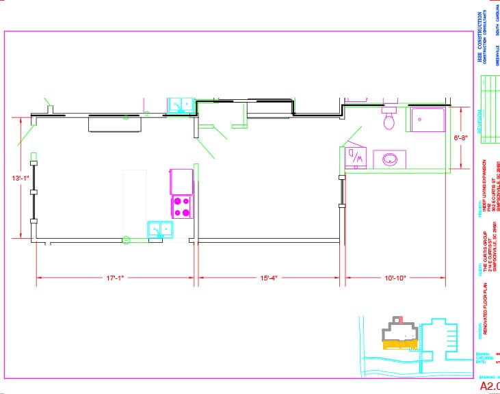 The Springs Floor Plan Unit B
