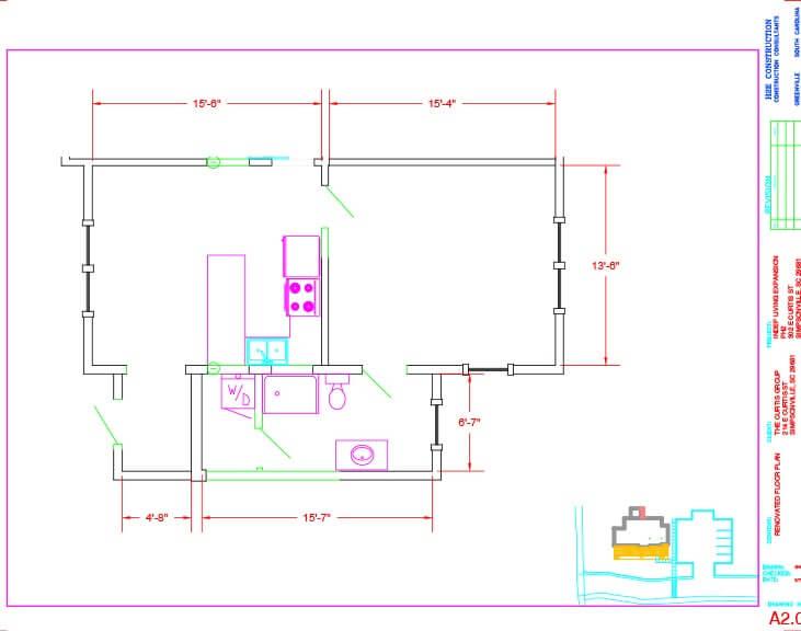The Springs Floor Plan Unit C