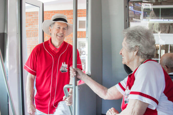 seniors redefining retirement