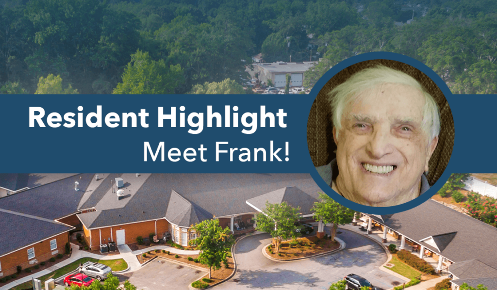 frank resident of the month