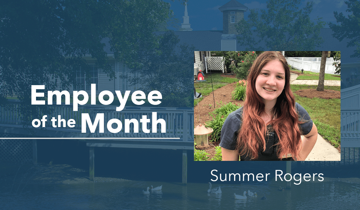 Summer Rogers – Employee Of The Month