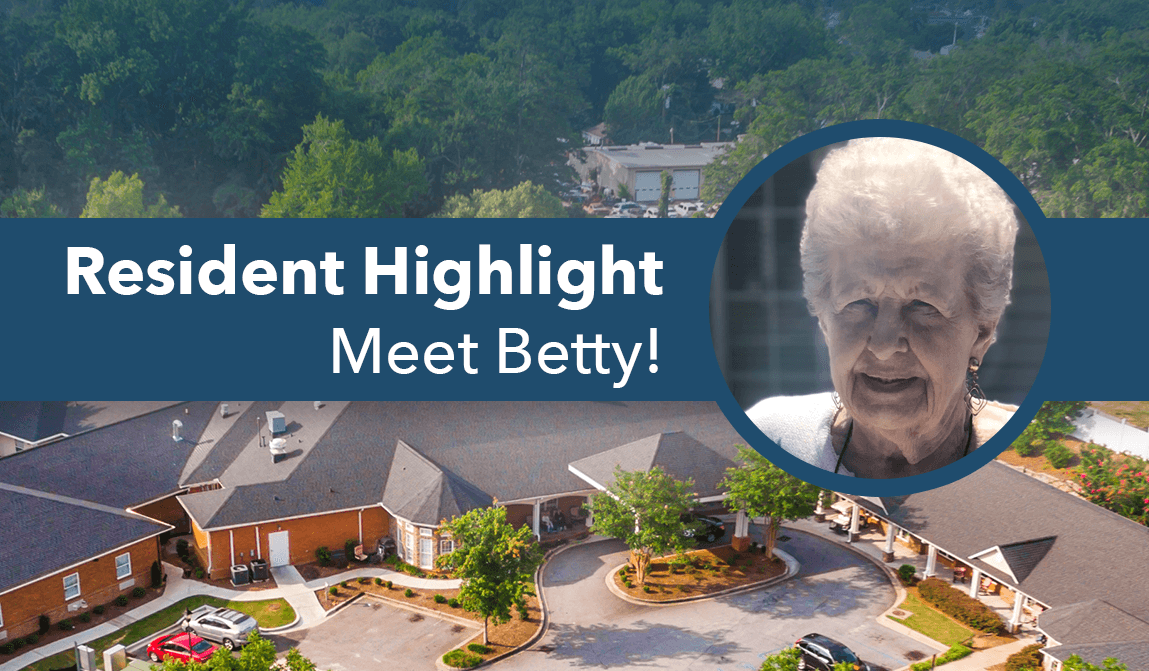 Meet Betty – Resident Of The Month