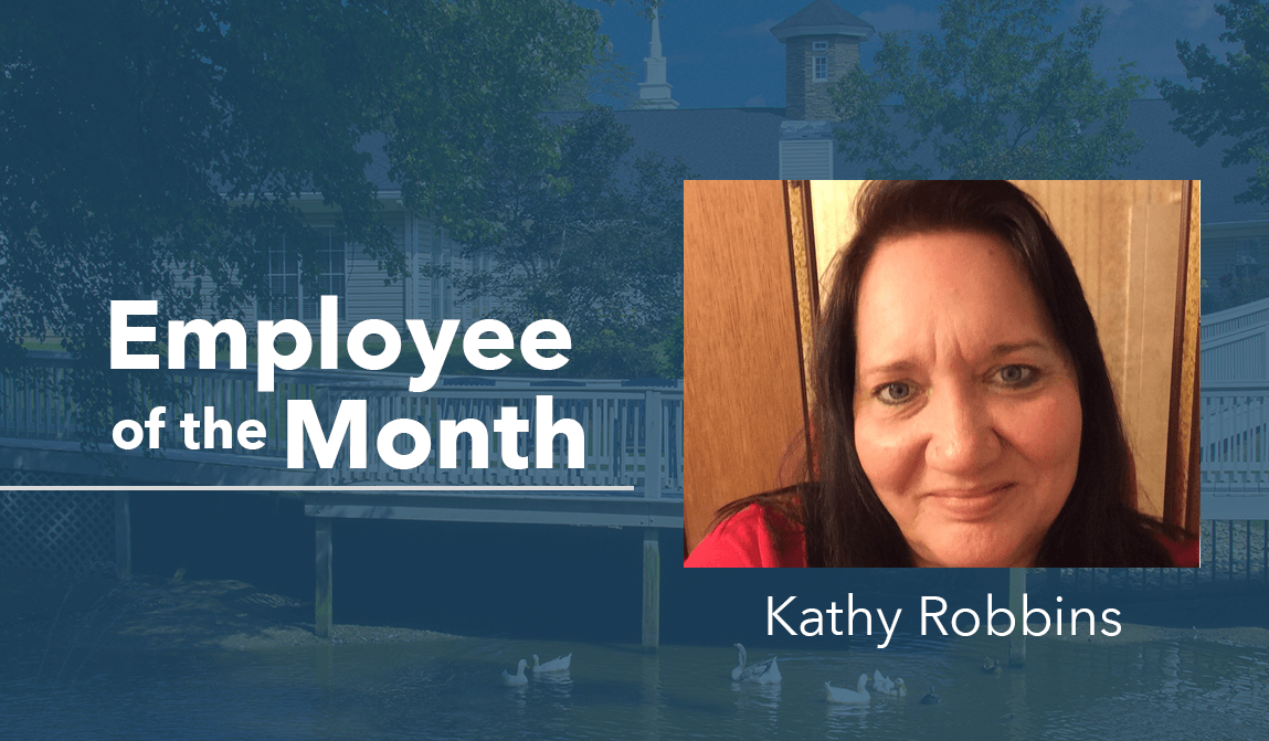 Kathy Robbins – Employee Of The Month