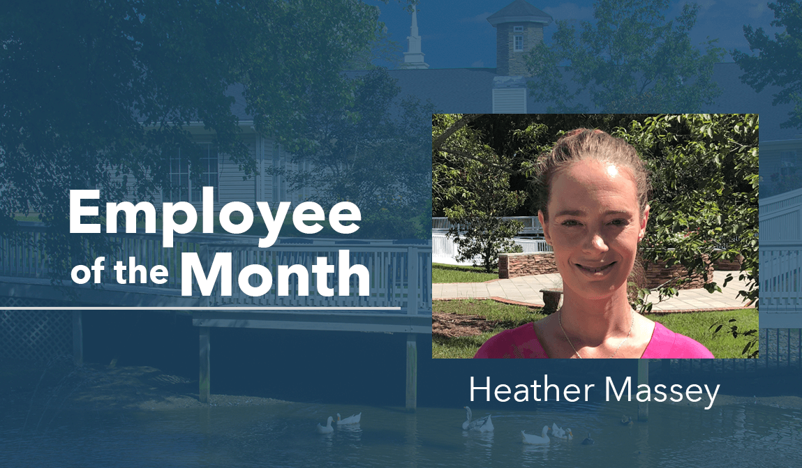 Heather Massey – Employee Of The Month