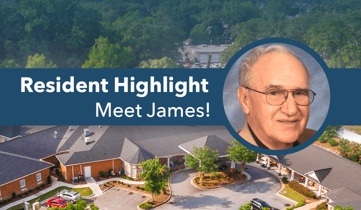 James – Resident Of The Month