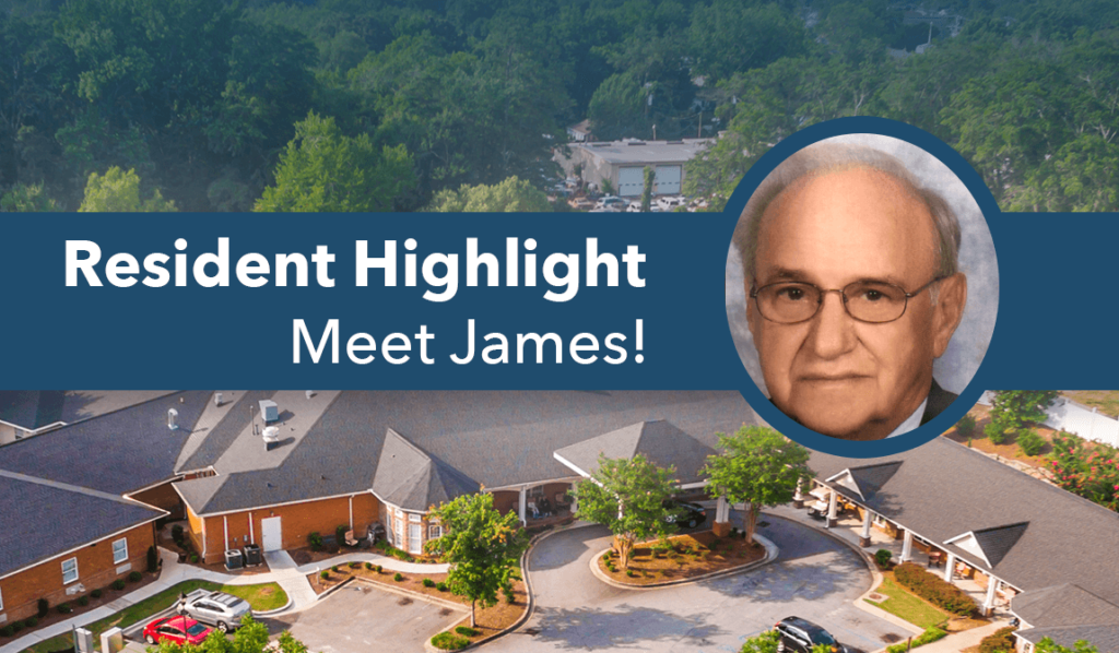 James resident