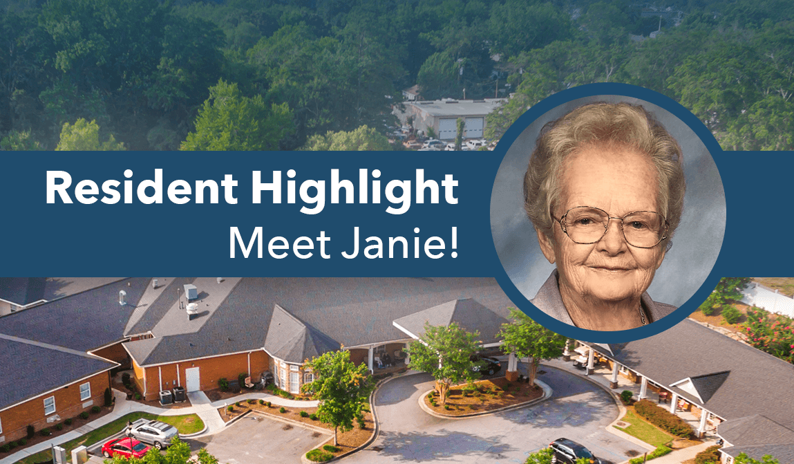 Janie – Resident Of The Month