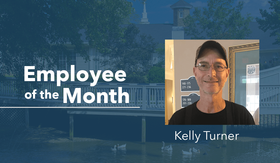 Kelly Turner – Employee Of The Month