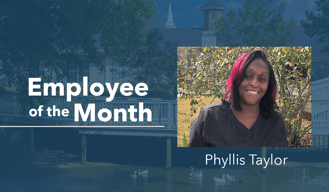Phyllis Taylor – Employee Of The Month