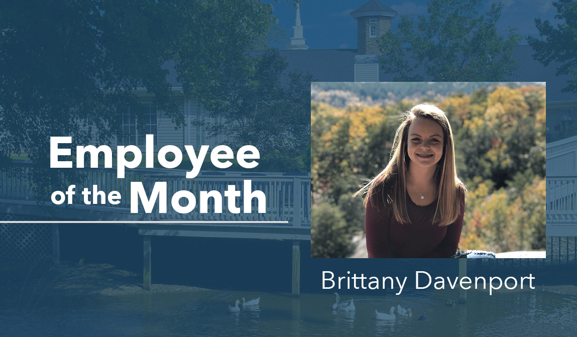 Brittany Davenport – Employee Of The Month