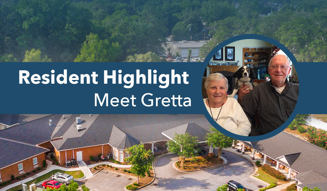 Gretta The Springs At Simpsonville Resident Spotlight Gretta