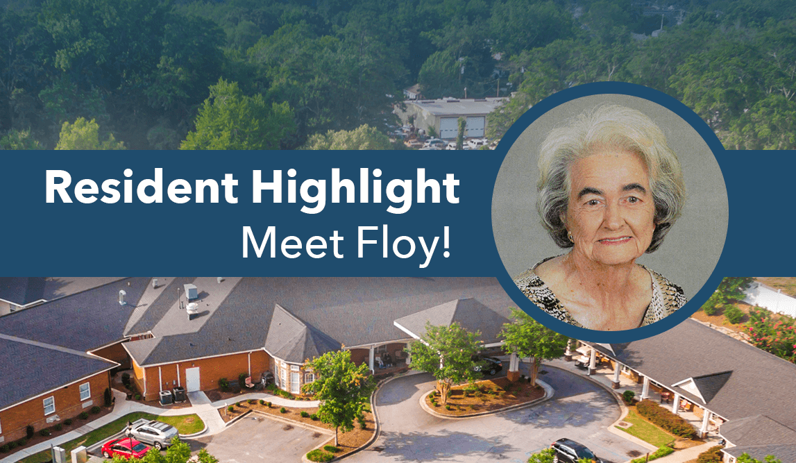 Floy Resident Of The Month