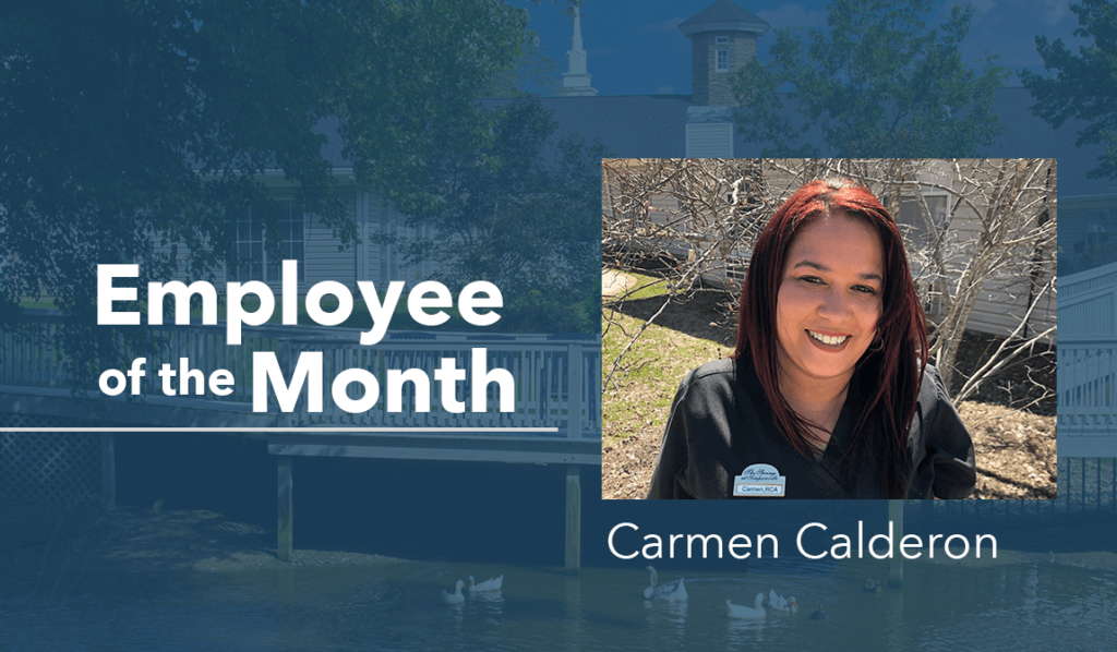 Carmen Calderon Springs Employee of the Month