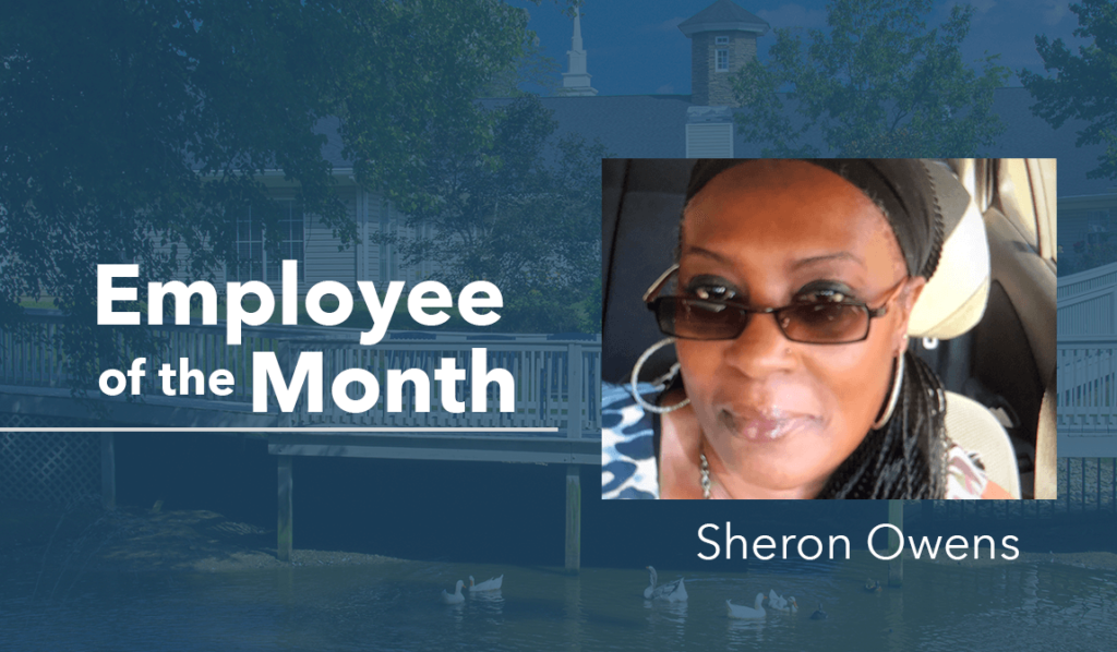 The Springs at Simpsonville Employee of the Month March Sheron Owens