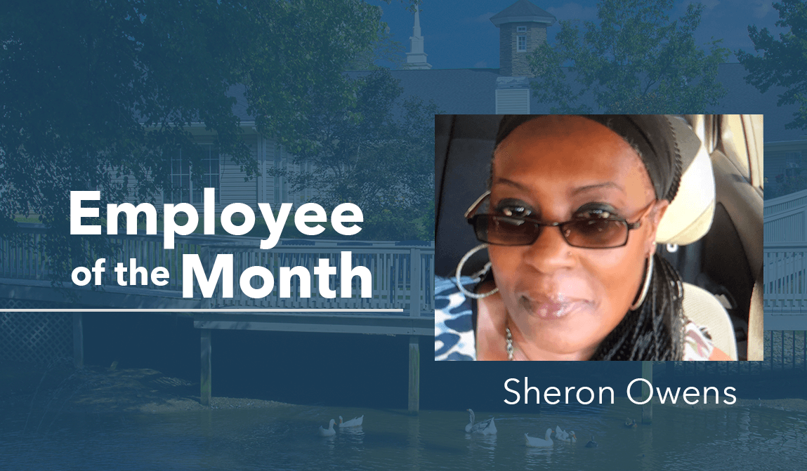 Sheron Owens – Employee Of The Month