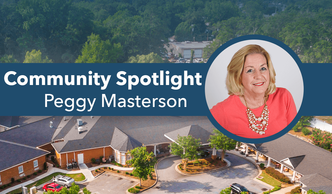Welcome Peggy Masterson The Springs At Simpsonville Community Spotlight