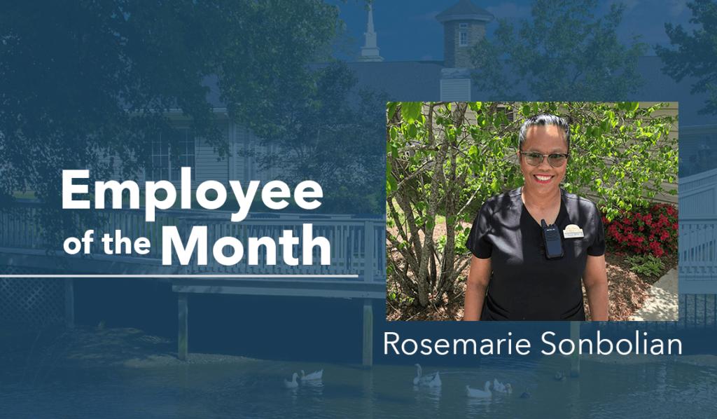 Rosemarie Springs Employee Header