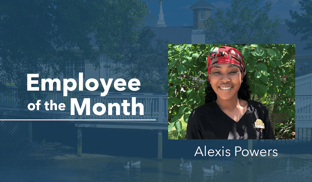Alexis Powers – Employee Of The Month