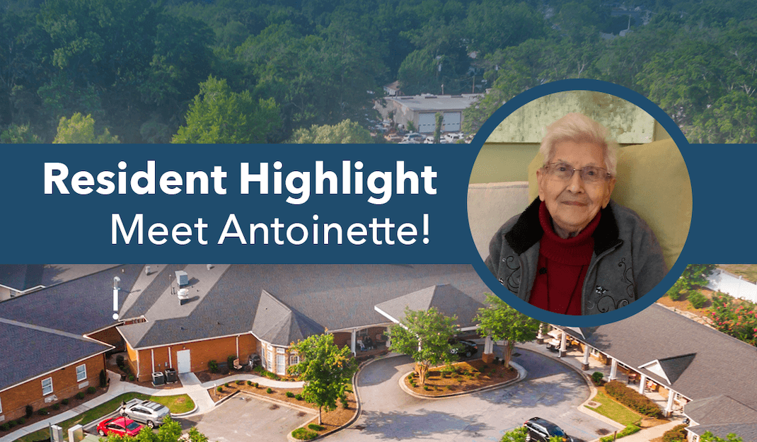 Antoinette – Resident Of The Month