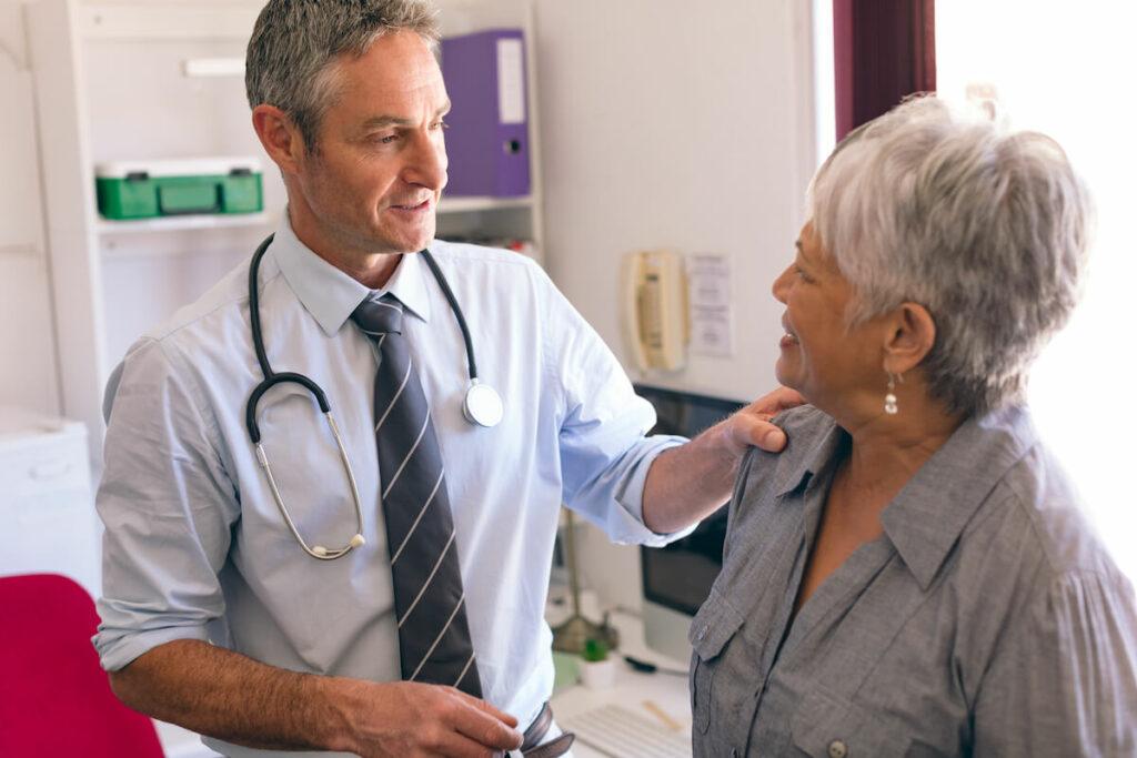 Senior Doctor Visit