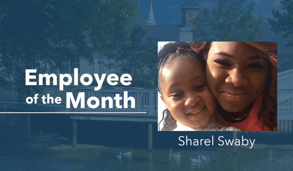The Springs at Simpsonville Employee of the Month for August