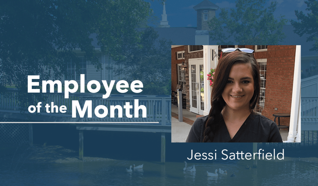 The Springs at Simpsonville Resident of the Month - Jessi