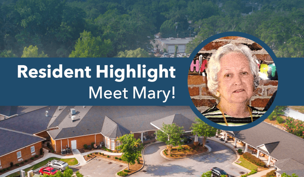 The Springs at Simpsonville Resident of the Month of September - Mary