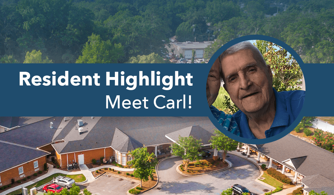 Carl – Resident Of The Month