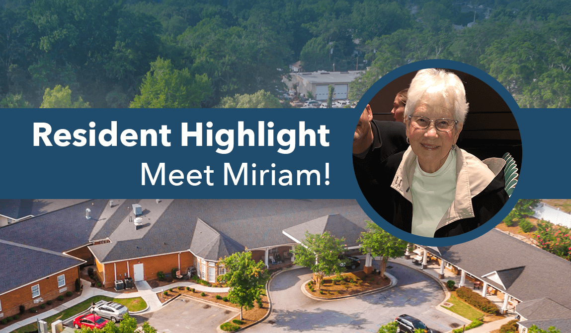 Miriam – Resident Of The Month