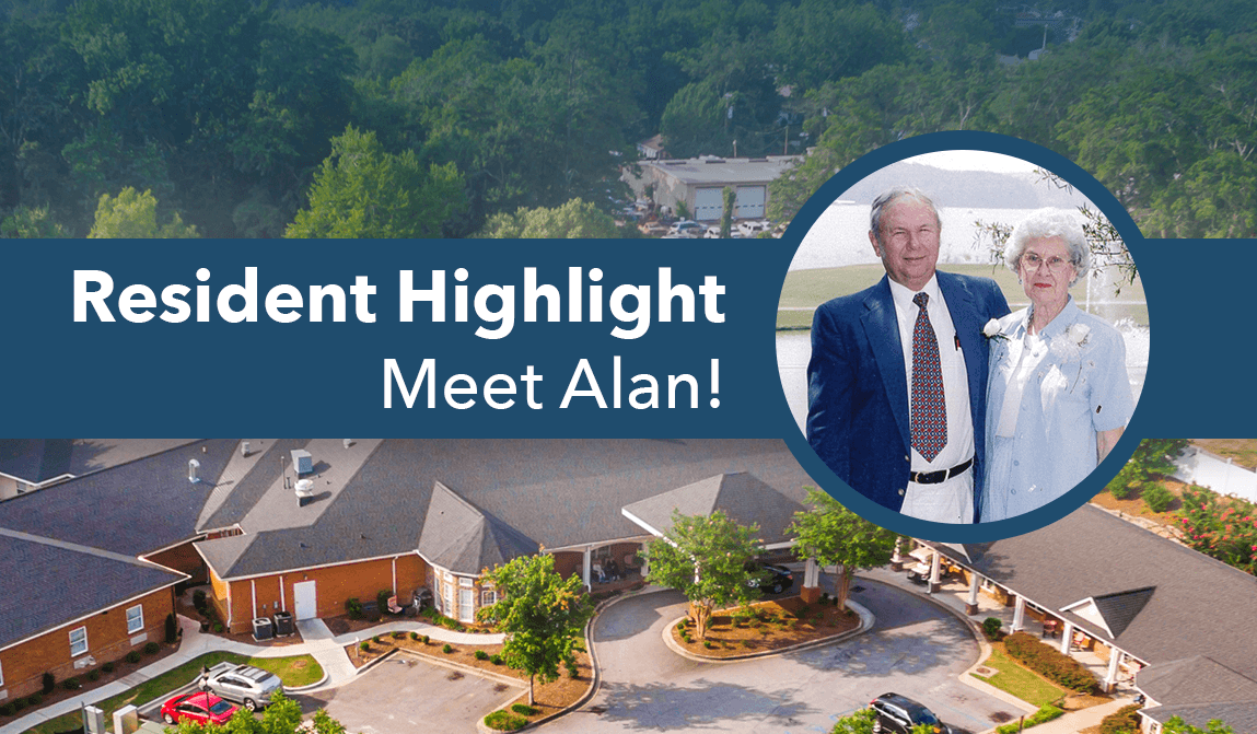 Alan – Resident Of The Month