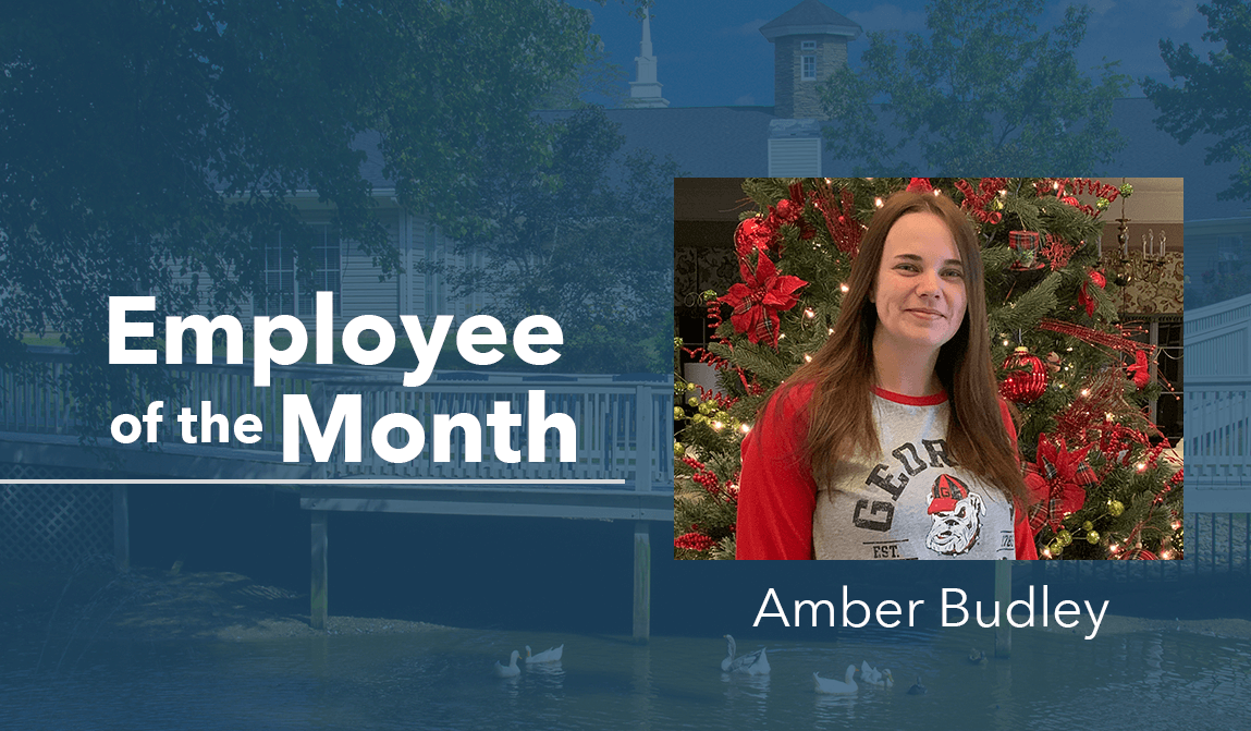 Amber Budley – Employee Of The Month