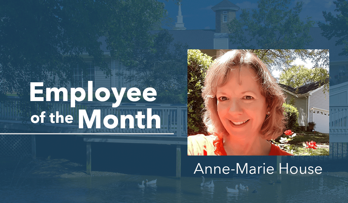 Anne-Marie House – Employee Of The Month