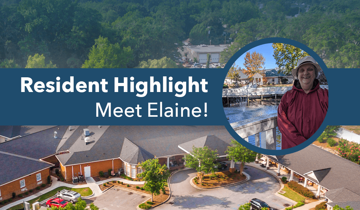 Elaine – Resident Of The Month