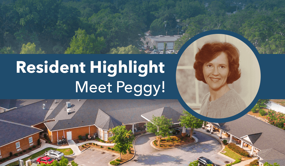 Peggy – Resident Of The Month