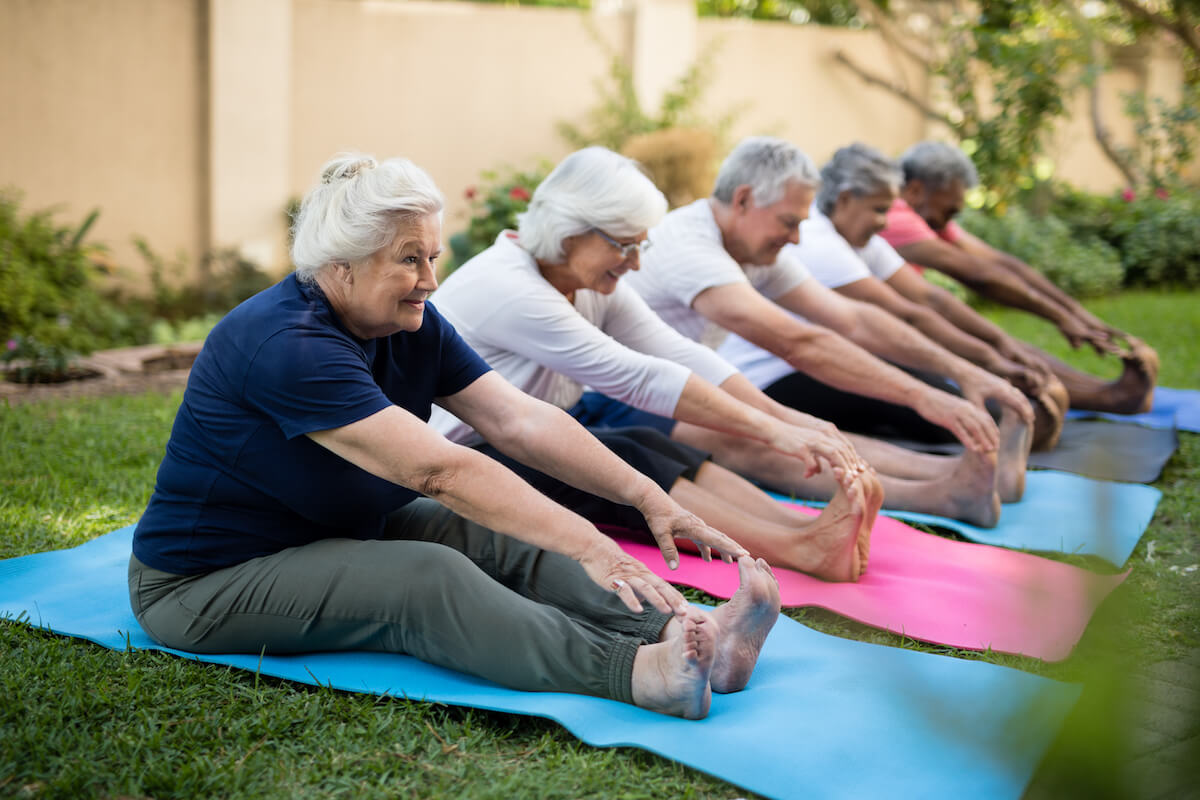 How Much Exercise Is Needed To Maintain Senior Health  The Springs At Simpsonville