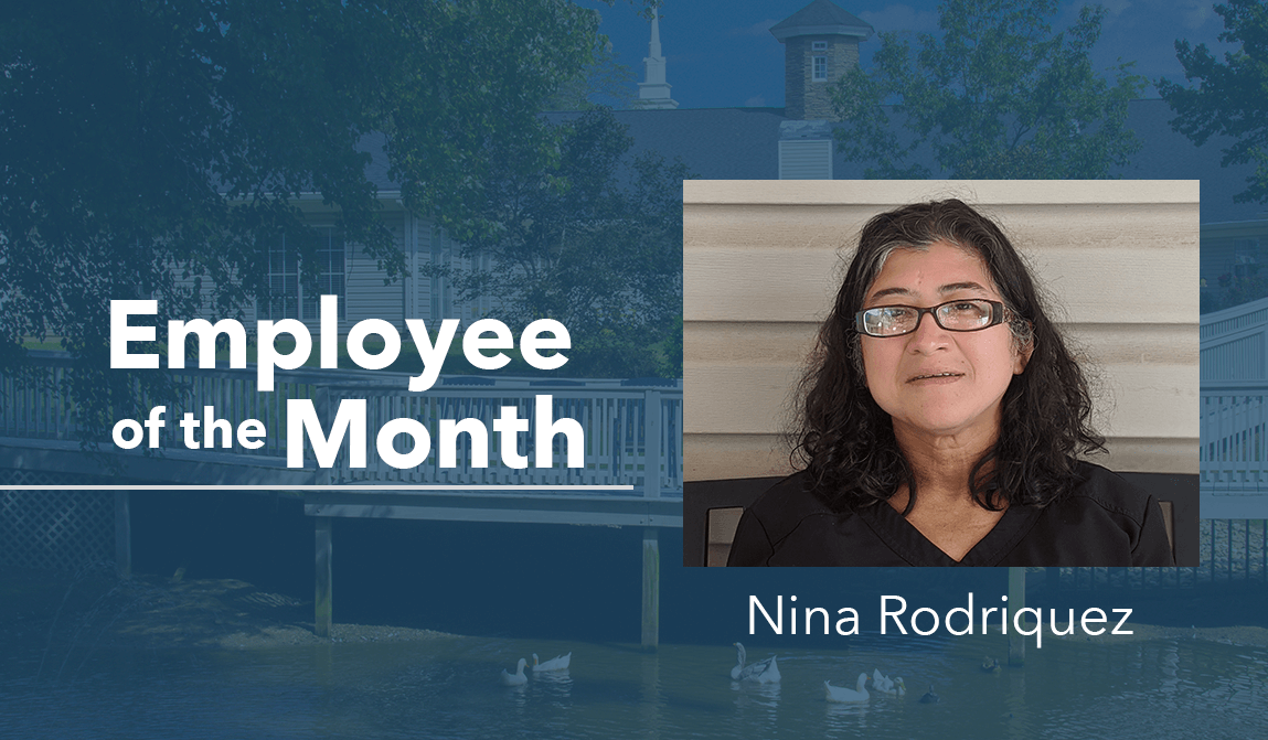 Nina Rodriquez – July Employee Of The Month