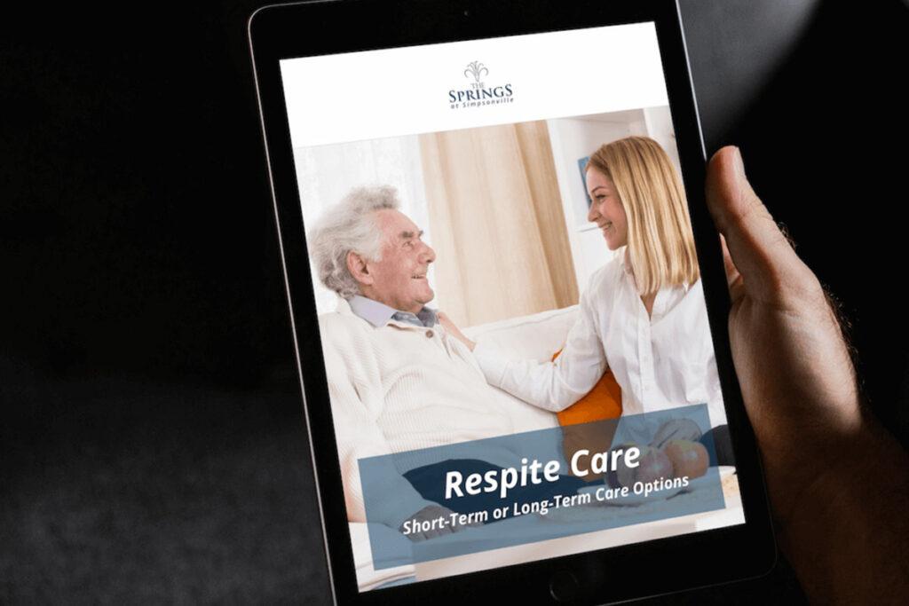 Respite Care eBook_The Springs