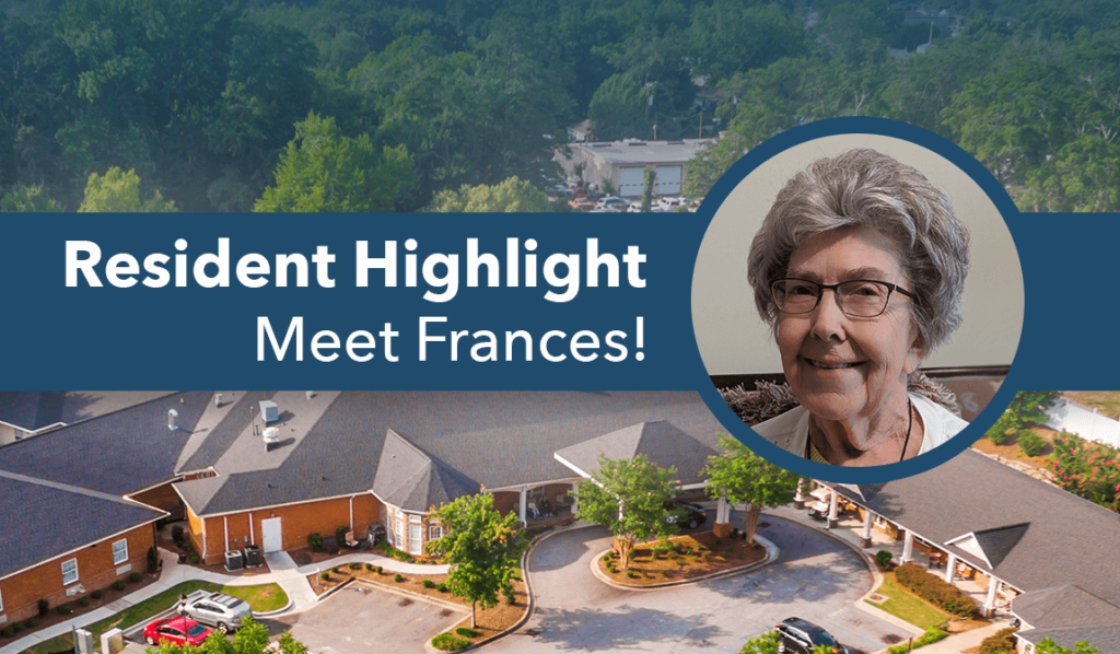 Simpsonville assisted living resident of the month