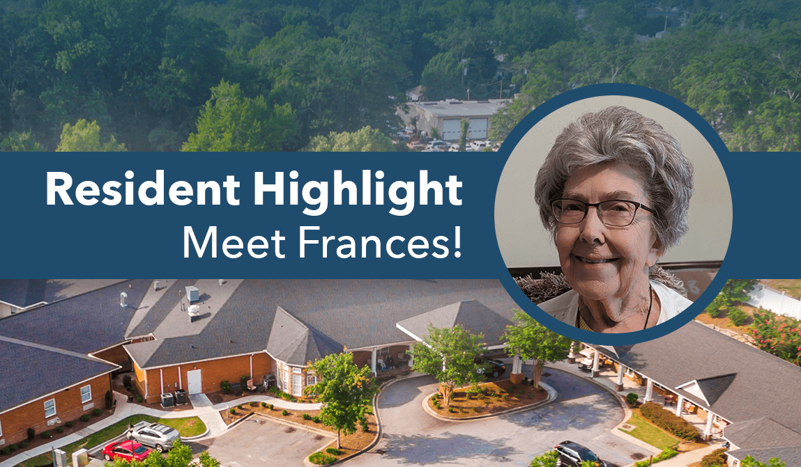 Frances – August Resident Of The Month