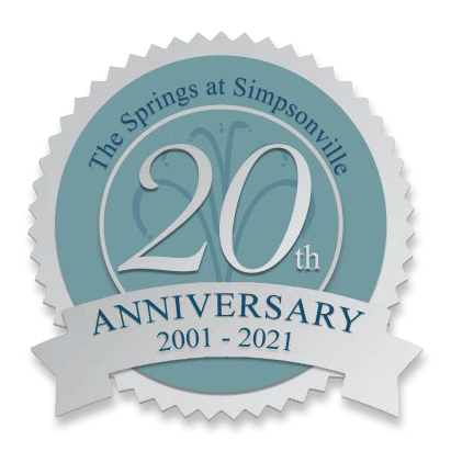 the springs at simpsonville 20 years