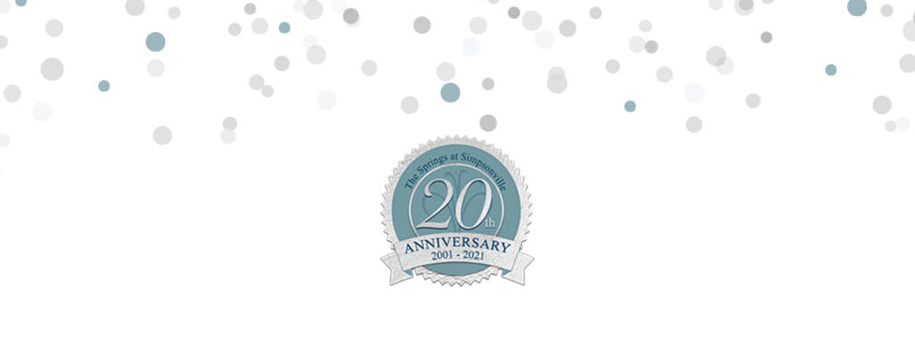 Assisted Living Simpsonville SC - See Our 20th Anniversary Sweepstakes POST on Facebook