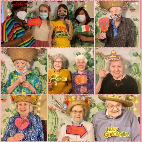 Elder Care Simpsonville SC - Tribute to All Our Moms and Cinco de Mayo at The Springs